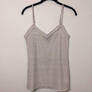 American Eagle Outfitters Tops - American Eagle | Sparkly Layering Tank Top M